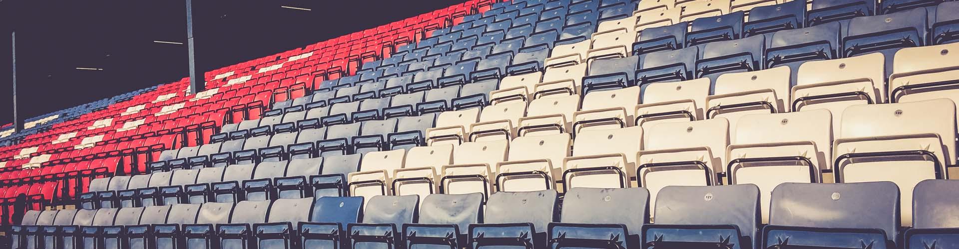 Tribüne Fußballstadion