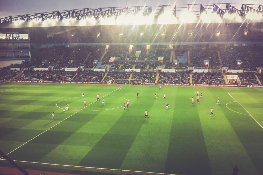 Aston Villa - Sunderland, Villa Park, Birmingham