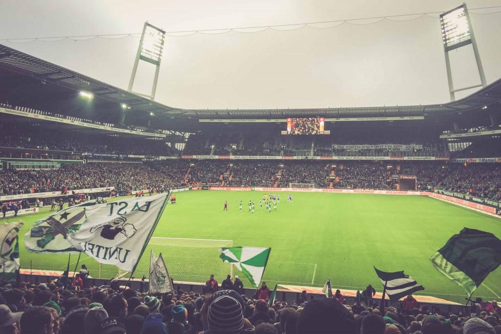 Werder Bremen - Hertha BSC Berlin, Weserstadion, Bremen