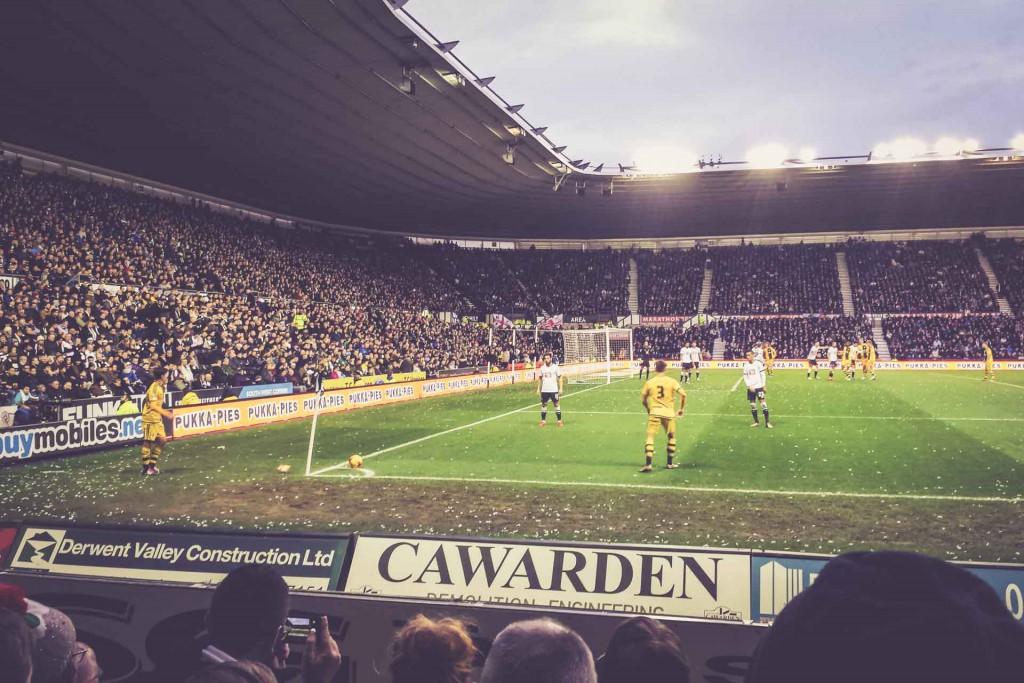 Derby County - FC Fulham, Pride Park Stadium, Derby