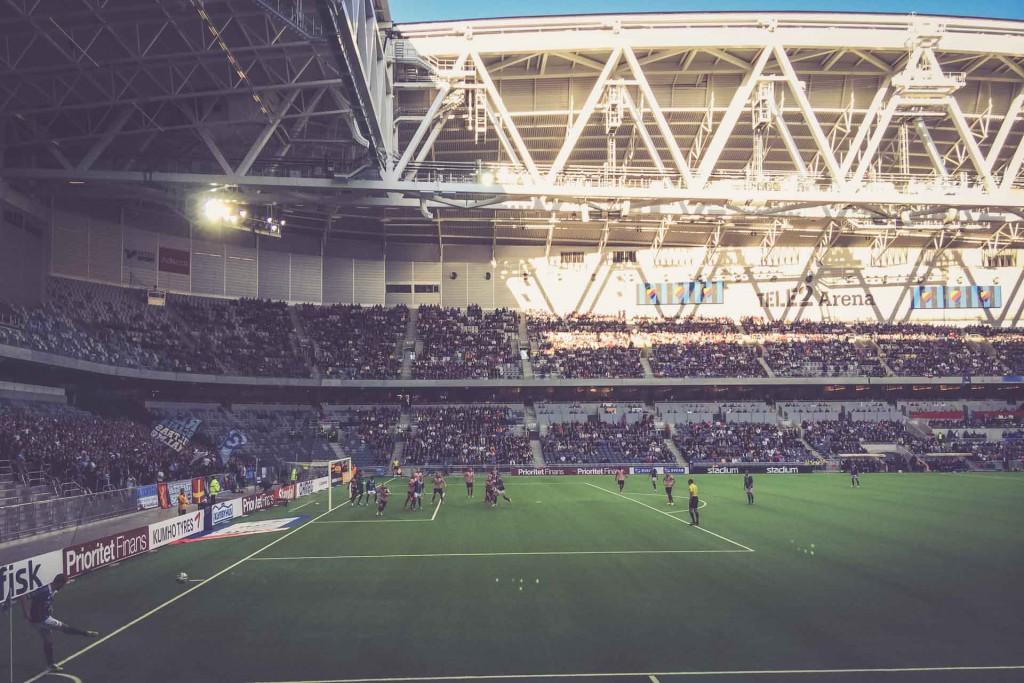Djurgårdens IF – Malmö FF, Tele2 Arena, Stockholm