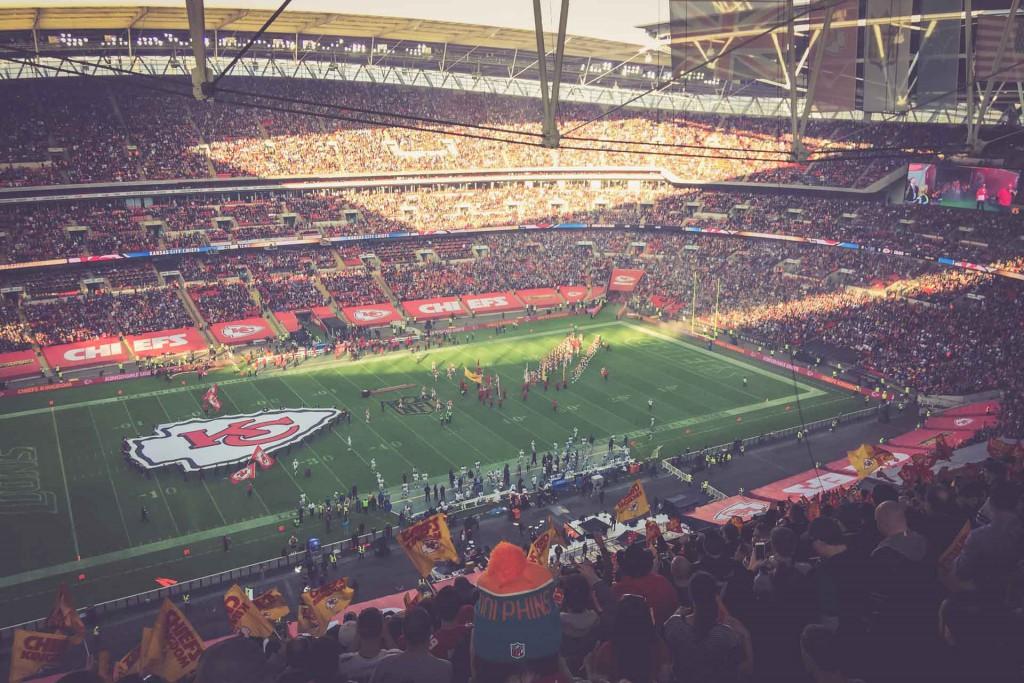 Kansas City Chiefs - Detroit Lions, Wembley Stadium, London