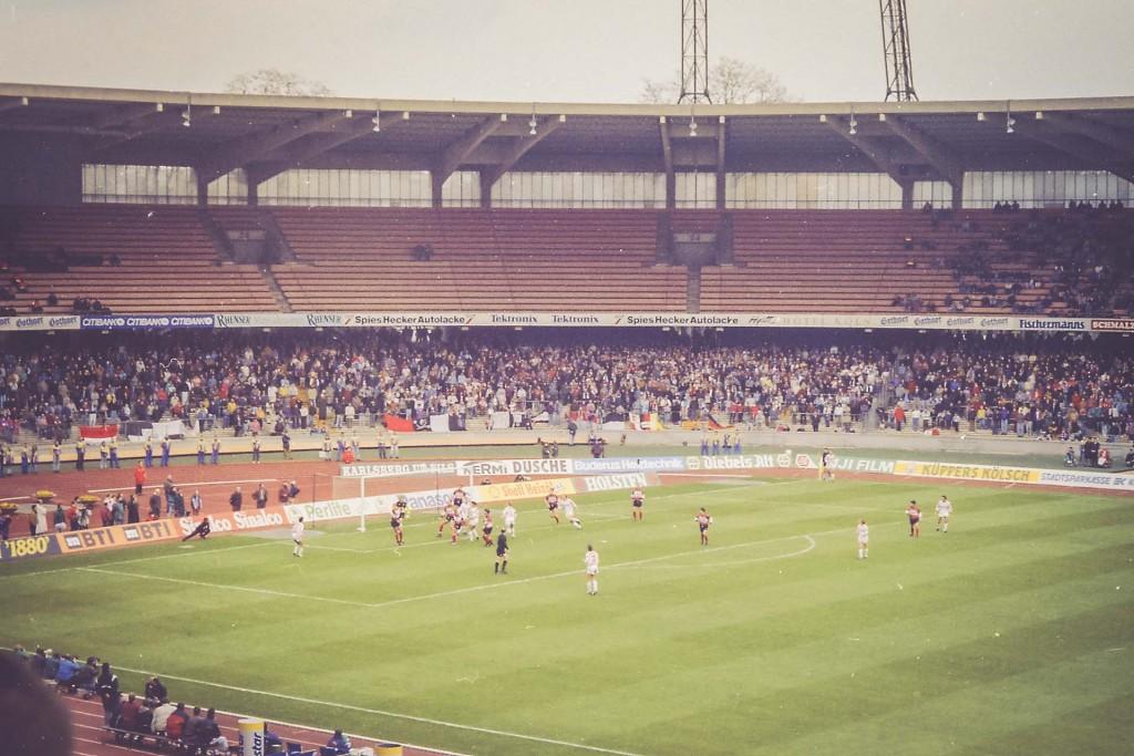 Müngersdorfer Stadion, 1.FC Köln - Wattenscheid 09