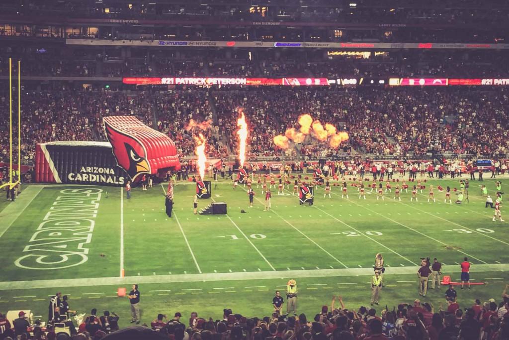 Arizona Cardinals - San Diego Chargers, University of Phoenix Stadium, Glendale