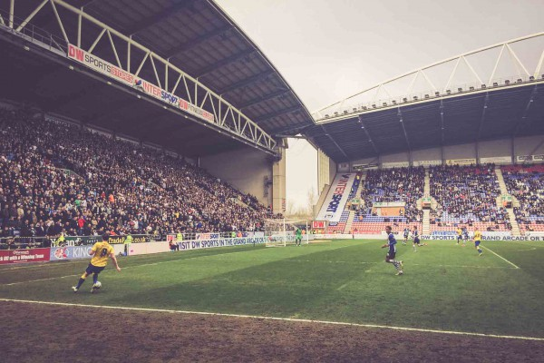 Wigan Athletic - Derby County, DW Stadium, Wigan