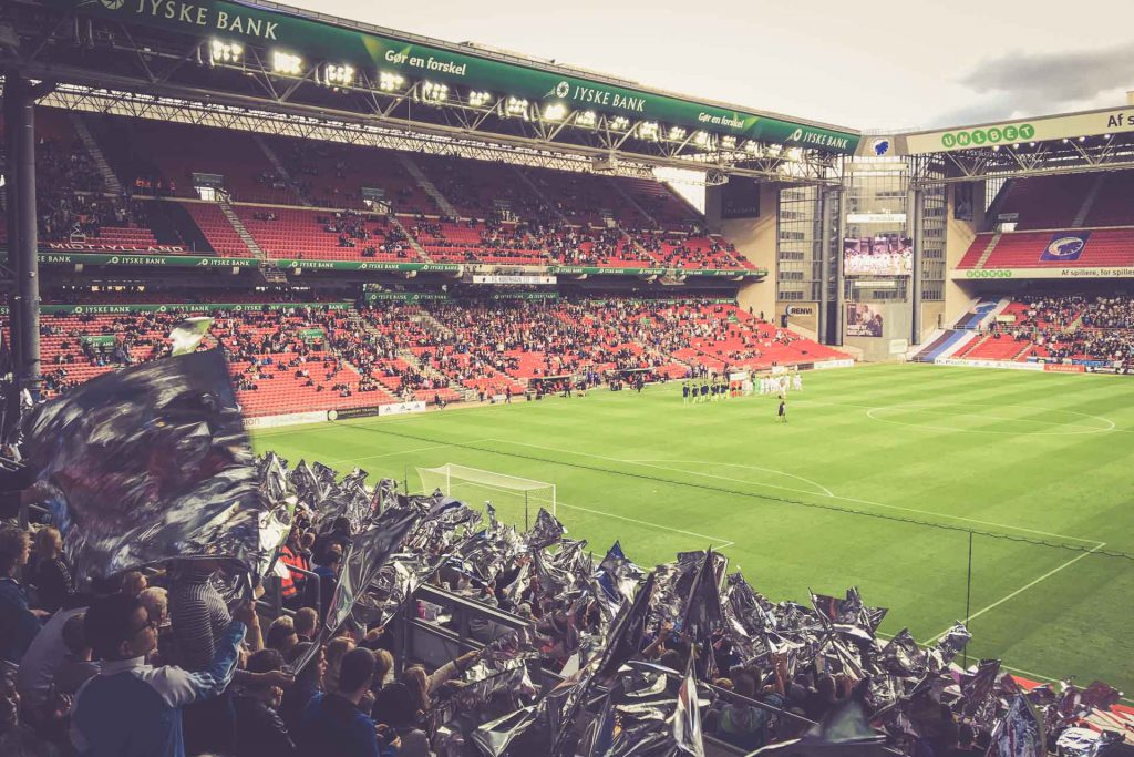 Telia Parken Kopenhagen, FC Kopenhagen - FC Midtjylland