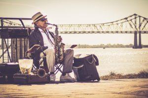 New Orleans, Saxophonspieler