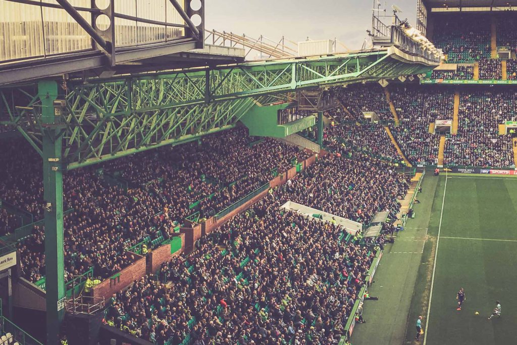 Celtic Park - Alte Tribühne, Glasgow