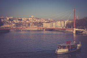 Lyon - Brücke über die Saône