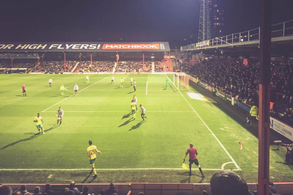 Griffin Park, Brentford FC - Norwich City