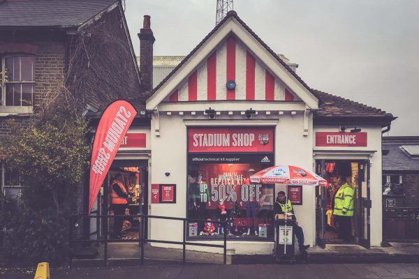 Griffin Park, Brentford - Stadion Shop