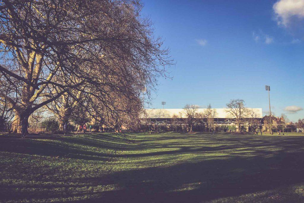 Craven Cottage, Fulham - Bishop´s Park