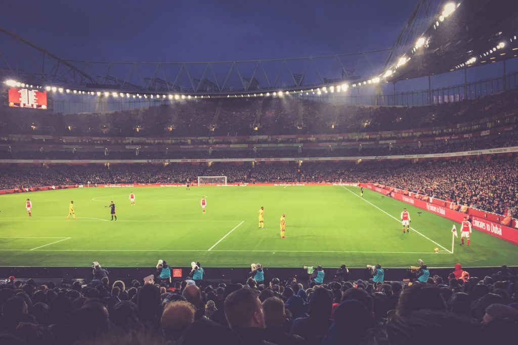 Emirates Stadium, London - Arsenal FC - Crystal Palace
