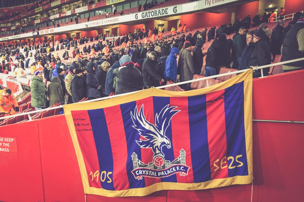 Emirates Stadium, London - Arsenal FC - Crystal Palace Away Fans
