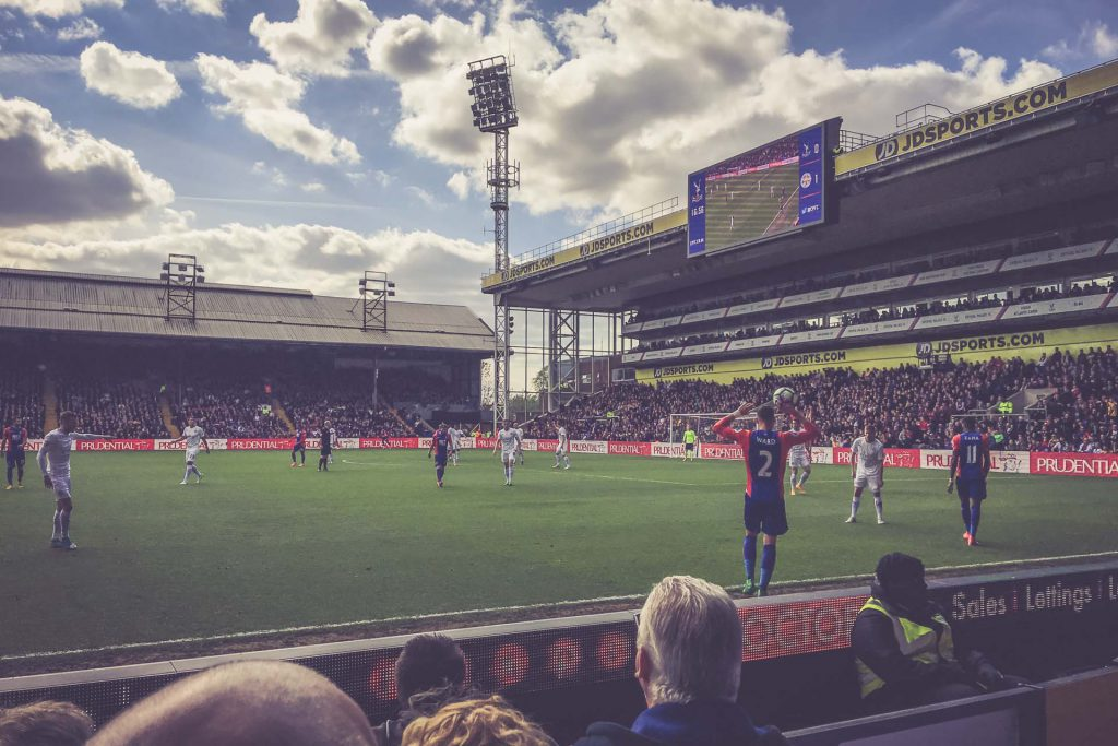 Selhurst Park, Crystal Palace - Leicester City