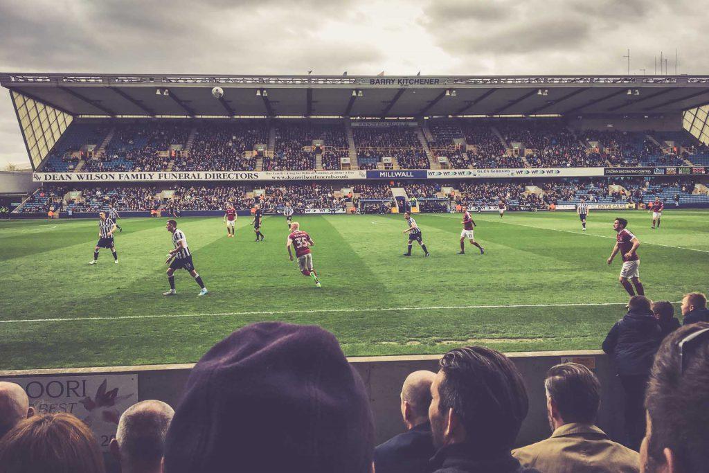 The Den, Millwall FC - Northampton Town