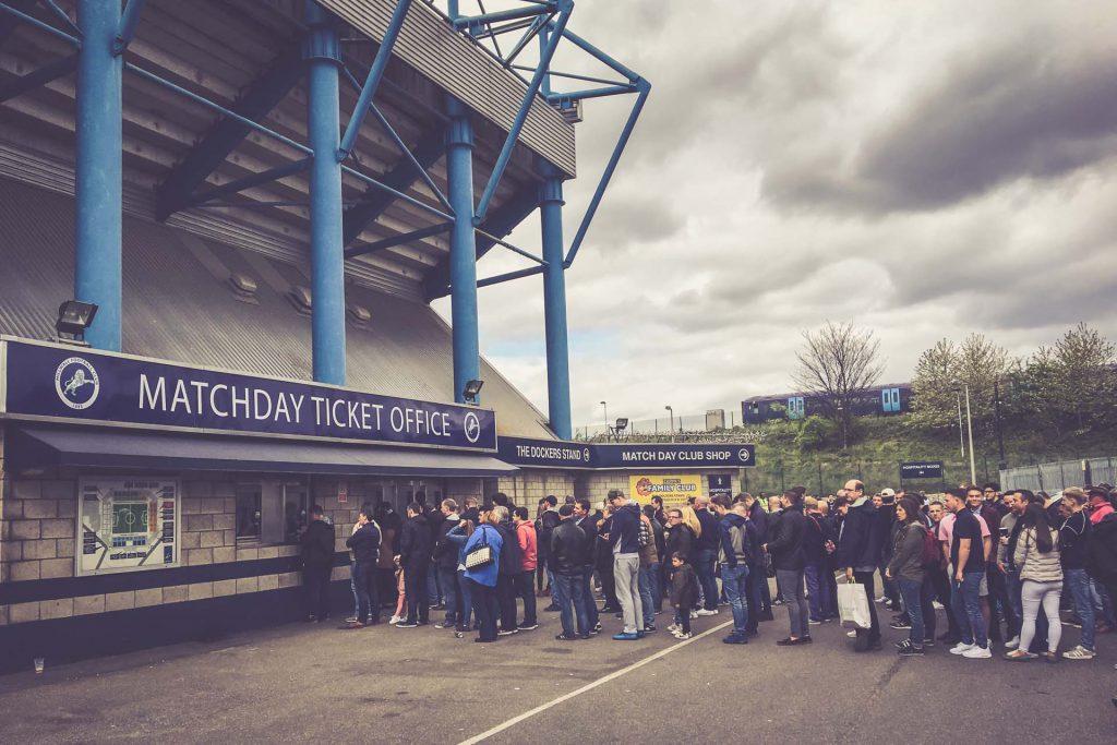 The Den, Millwall FC Ticket Office