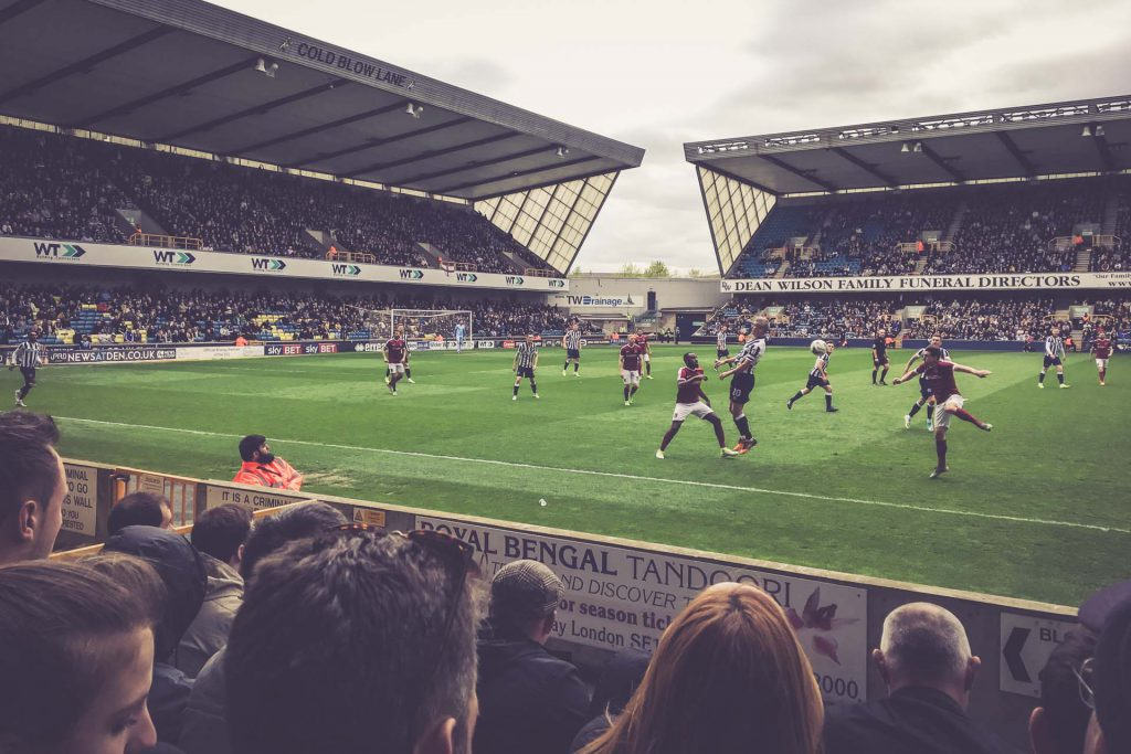 The Den, Millwall FC - Cold Blow Stand