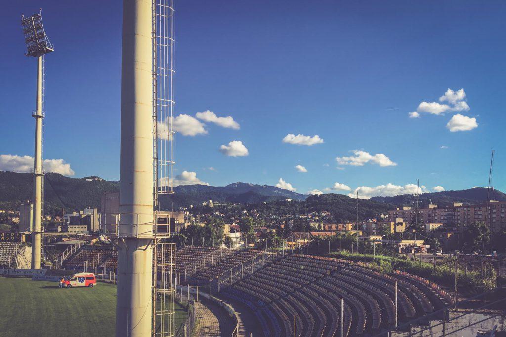 Stadionul Tineretului, Brașov - Berge