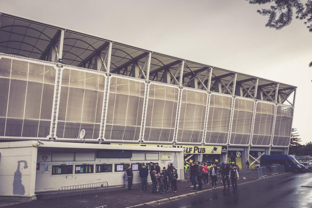 Stadionul Ilie Oană, Ploiești außen