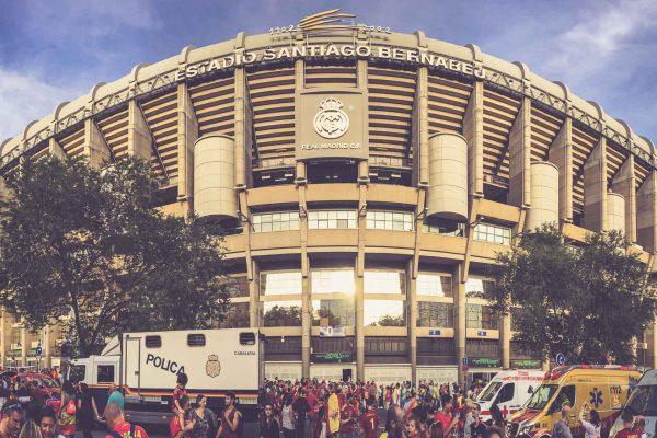 Estadio Santiago Bernabéu, Madrid