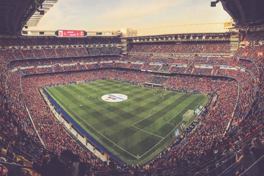 Estadio Santiago Bernabéu, Madrid - Innen