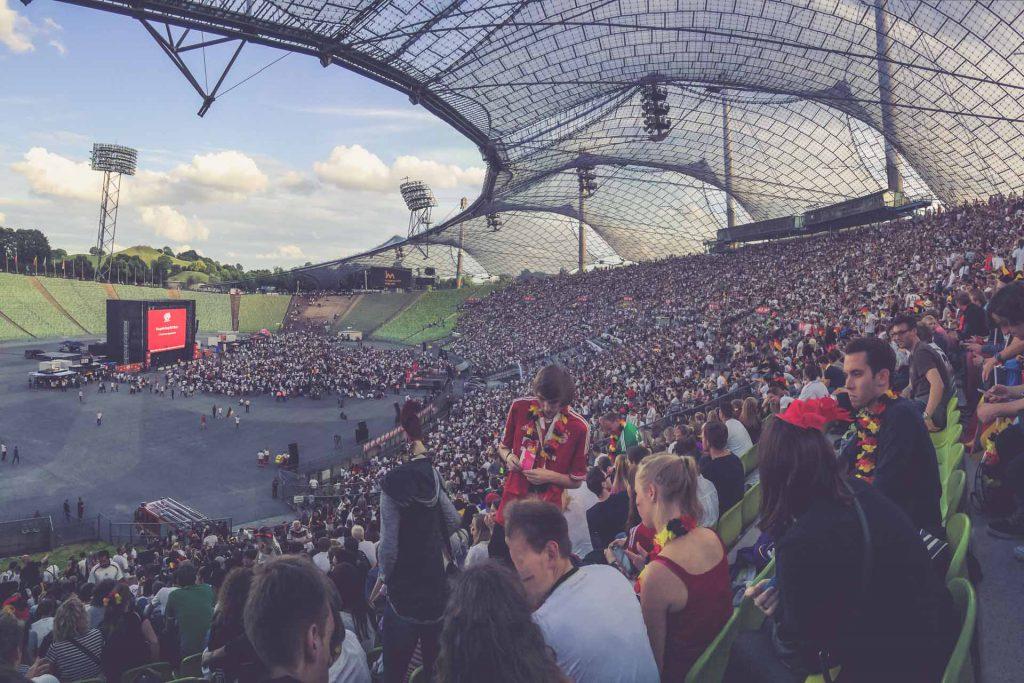 Olympiastadion München - Innen