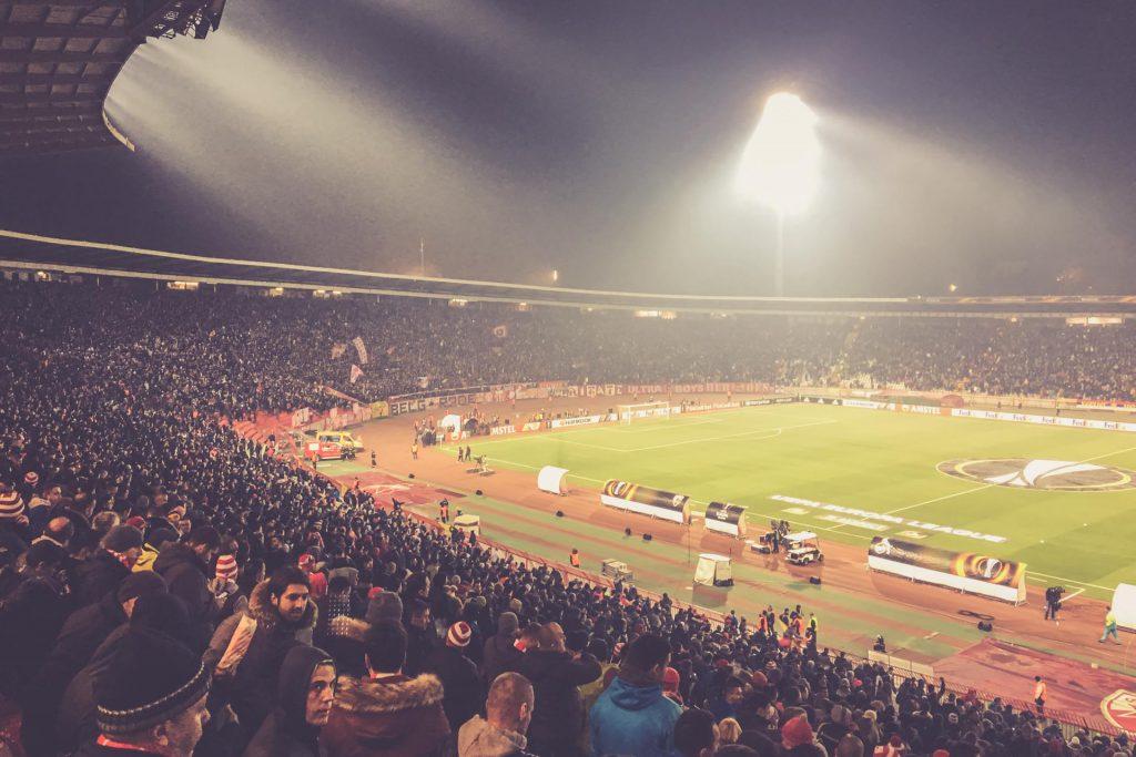 Stadion Rajko Mitic, Roter Stern Belgrad