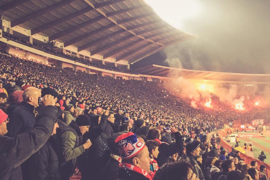 Stadion Rajko Mitic, Roter Stern Belgrad Haupttribüne