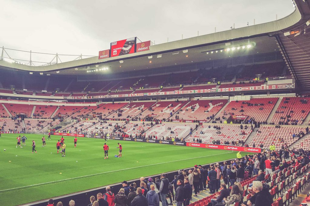 Stadium of Light, Sunderland - Haway the Lads
