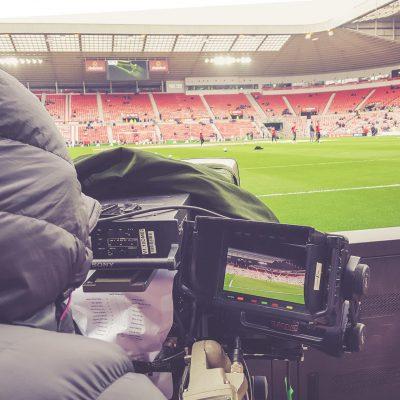 Stadium of Light, Sunderland - Kameramann