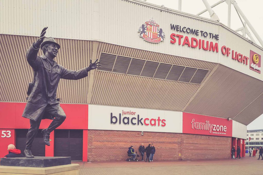 Stadium of Light Statue, Sunderland