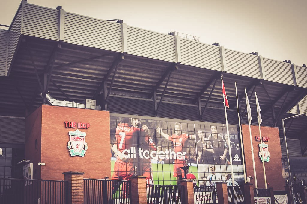 Anfield Road - The Kop, Liverpool