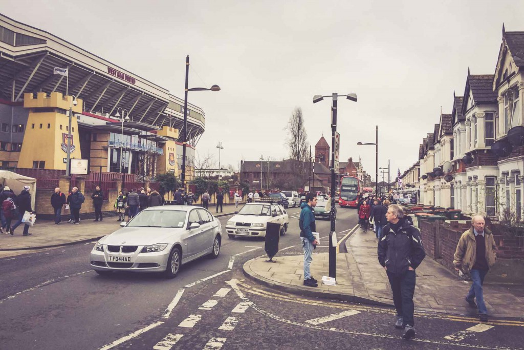 Boleyn Ground, West Ham