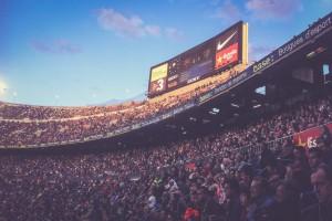 Camp Nou, Barcelona, Anzeigetafel