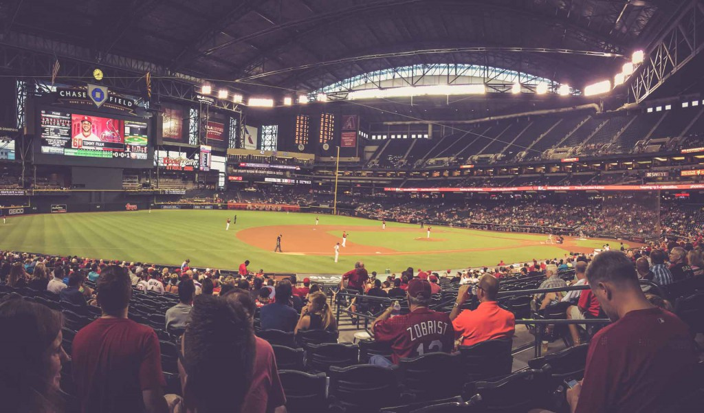 Arizona Diamondbacks - St. Louis Cardinals, Chase Field, Phoenix
