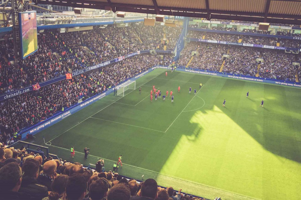 Chelsea - Liverpool, Stamford Bridge, London