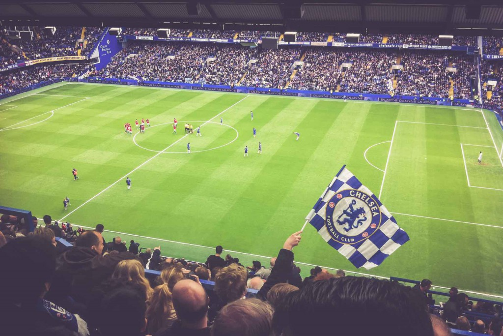 Chelsea - Swansea, Stamford Bridge, London