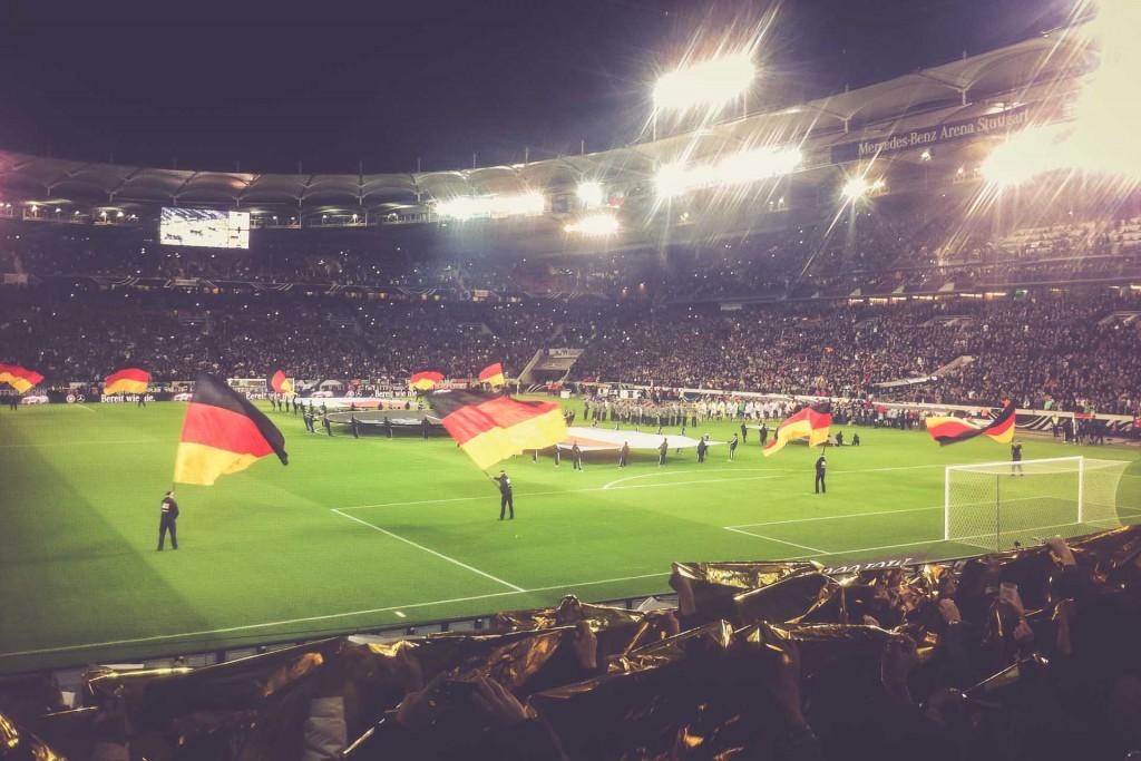 Deutschland - Chile, Mercedes-Benz Arena, Stuttgart
