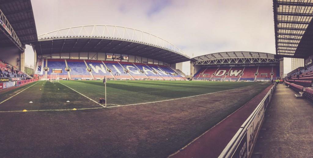 DW Stadium, Wigan