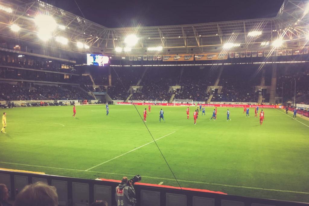 Hoffenheim - Leverkusen, Wirsol Rhein-Neckar-Arena, Sinsheim
