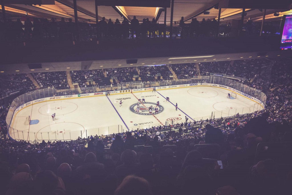 New York Rangers, Madison Square Garden, New York