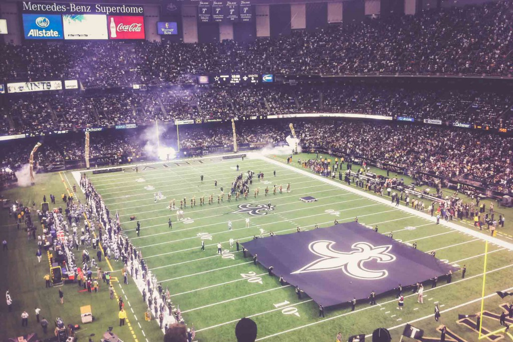 New Orleans Saints - Dallas Cowboys, Mercedes Benz Superdome, New Orleans