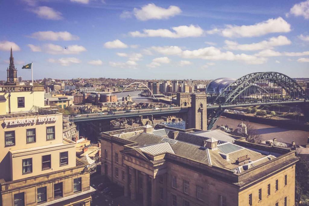 Newcastle - Stadt der 7 Brücken