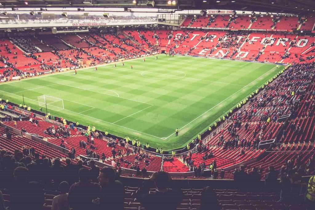 Manchester United - Aston Villa, Old Trafford, Manchester