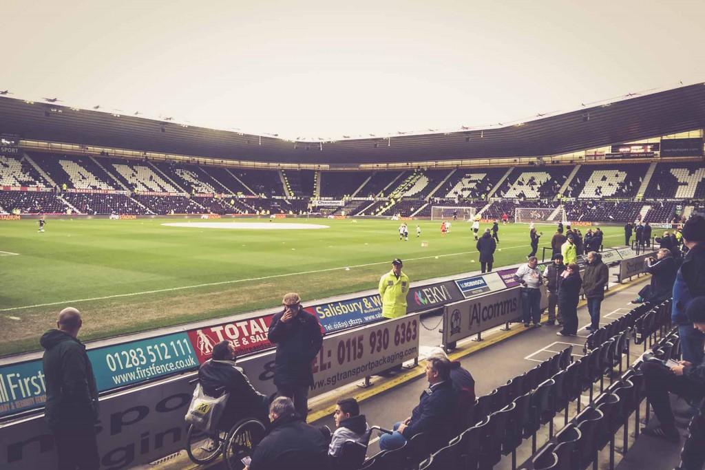 Pride Park Stadium, Derby