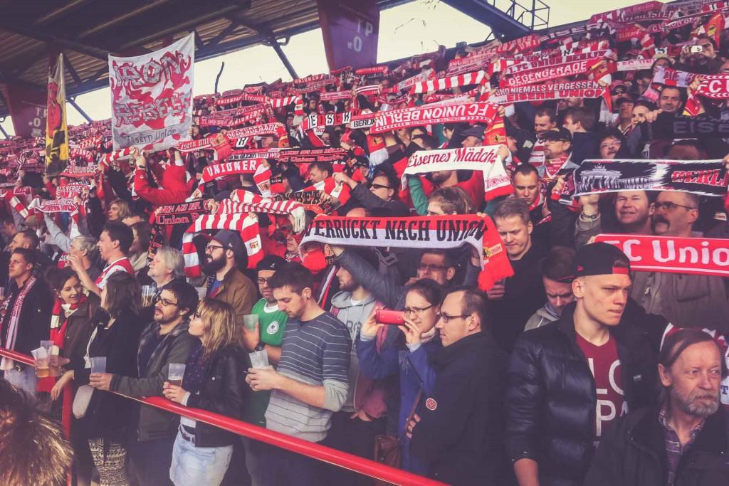 Fans, Stadion An der Alten Försterei, Berlin