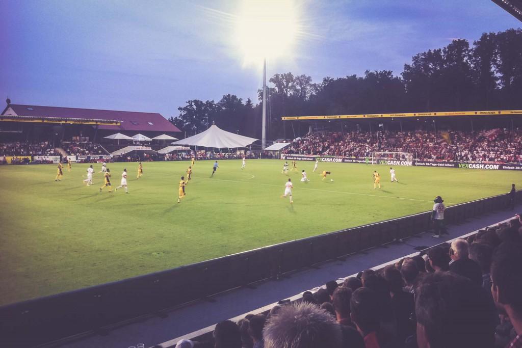 VFB Stuttgart - Botev Plovdiv, Mechatronik Arena