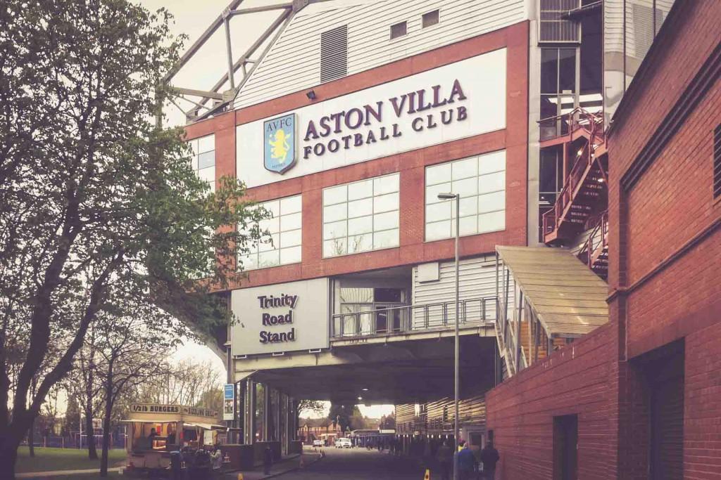 Villa Park, Birmingham, Trinity Road Stand