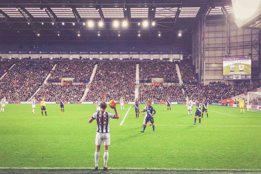 The Hawthorns, West Bromwich Albion - Newcastle United